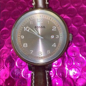 Fossil Bridgette Grey Dial Watch AM4304💕💕